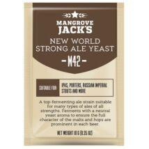 Mangrove Jack's New World Strong Ale Yeast-M42- élesztő