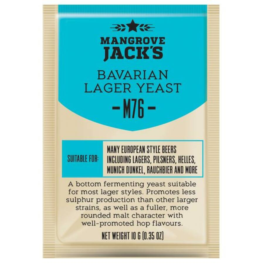 Mangrove Jack's Bavarian Lager M76 élesztő