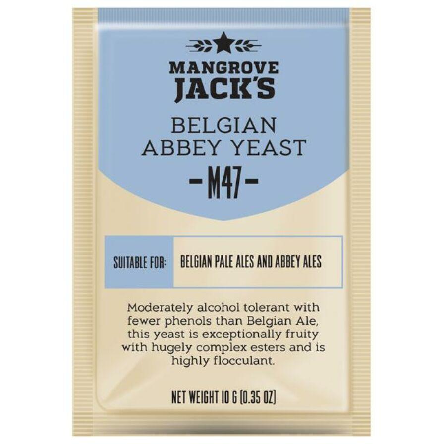 Mangrove Jack's Belgian Abbey Yeast-M47- élesztő