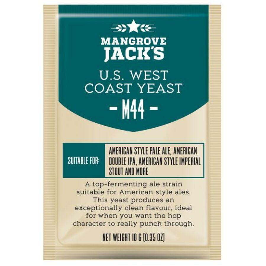 Mangrove Jack's US West Coast Yeast-M44- élesztő