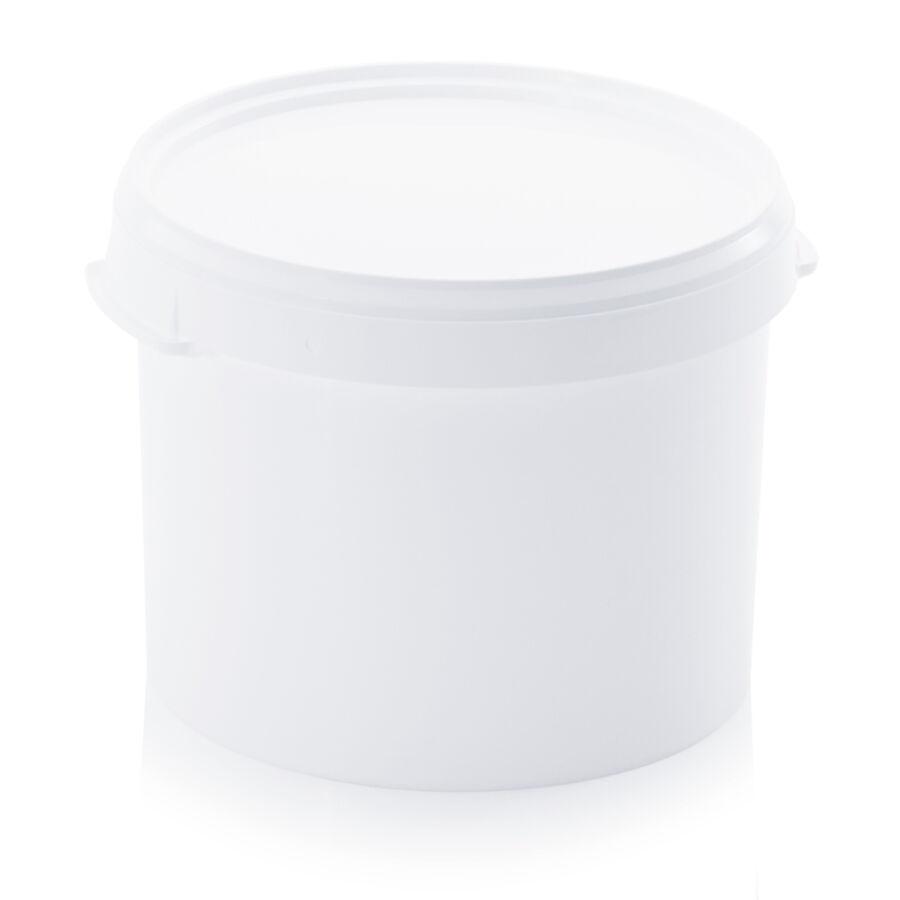 Műanyag vödör fedéllel (22 liter)